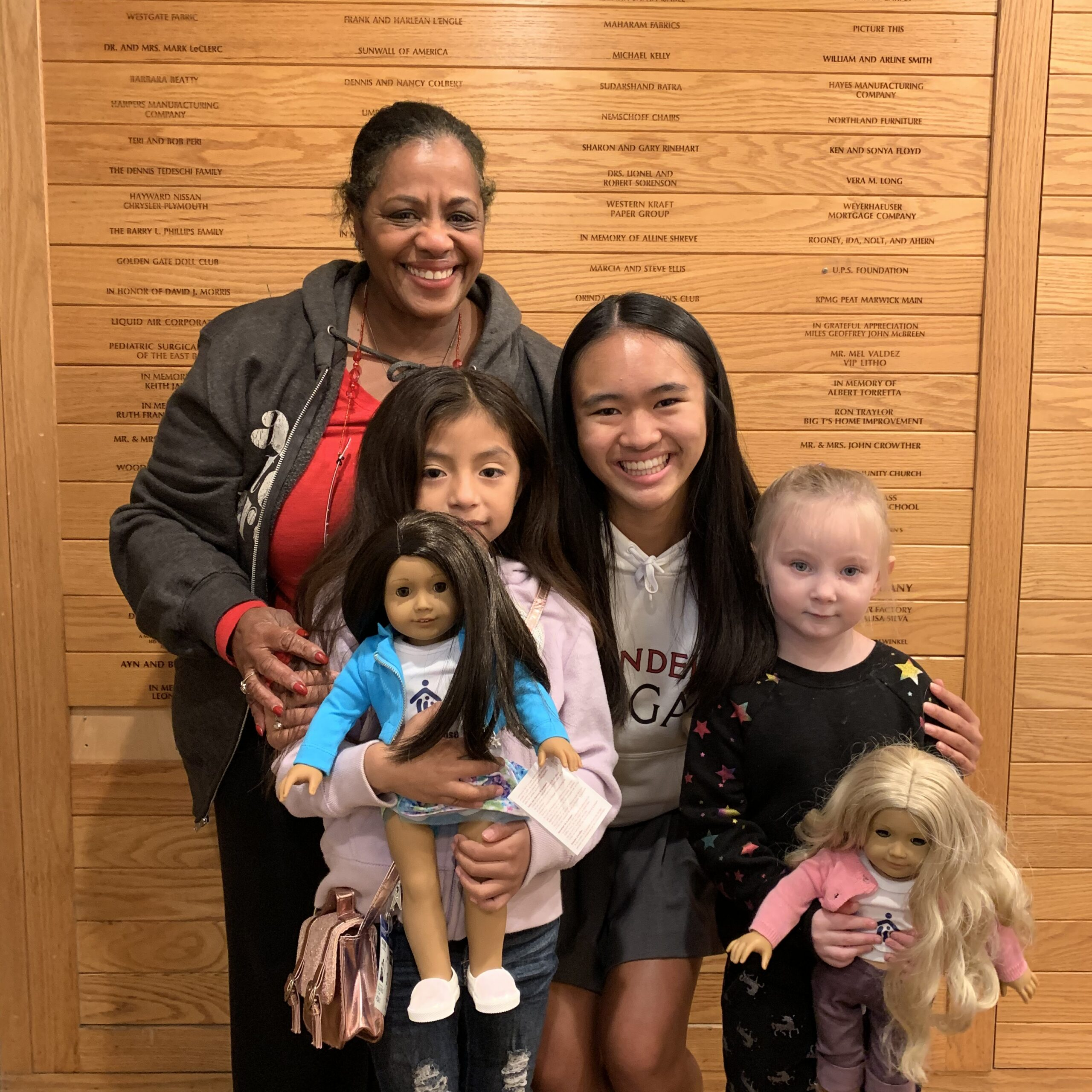 Adopt-a-Doll Brings Joyto Young Girls in Need